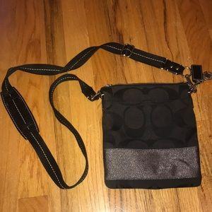Black Coach CrossBody Bag